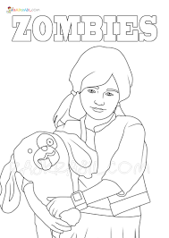 There are nearly 50 of them and you can choose the one you like the most, so that you don't waste many papers to print them. Z O M B I E S Coloring Pages Free Printable On Raskrasil Com