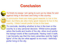 discursive writing ppt video online  conclusion to finish my essay i am going to sum up my ideas for and against