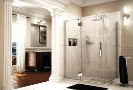showers kinetic shower door pivot enclosure with intelligent heavy duty hardware line doors reviews sliding