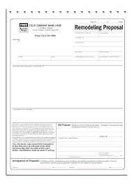 Free Construction Proposal Template Bid Sheet Contractor Forms ...