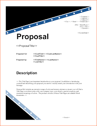 Proposal Cover Sheet Template Project Cover Page Template Bizoptimizer Us