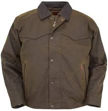 Outback Trading Company Size Chart Mens Trailblazer Oilskin Jacket By Outback Trading Company