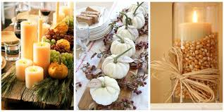 images of fall table decorations