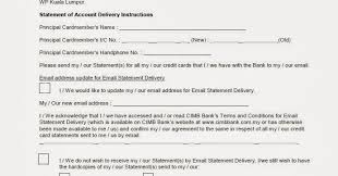 The 8Th Voyager: Cimb Credit Card Statement Of Account Delivery ...