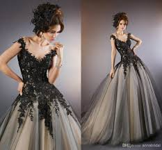 white gothic wedding dresses memorable wedding planning gothic