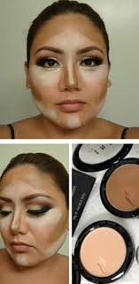 i m gonna do prom makeup for this and she has a round face like this good for reference contouring