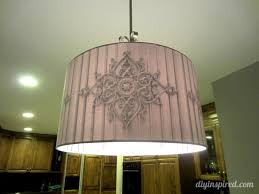 drum pendant with light conversion kit for diy idea makeover your interior lighting using in