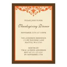 Invitation Card For Dinner Party 33 Best Thanksgiving Gathering Invitations Images Invitation Cards