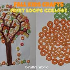 How To Make A Fruit Loop Apple Tree Craft For Toddlers Fruit Loop Tree