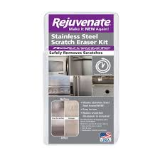 The Best Way To Clean Stainless Steel Appliances Rejuvenate Stainless Steel Scratch Eraser Kit Rjssrkit The Home