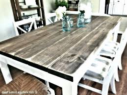 dining room table woodworking plans distressed wood round dining table fresh dining table distressed