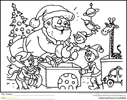 Christmas Coloring Book Pages Veles Me