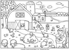 Small Picture Spring Colouring Pages for Kids