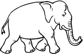 Elephants Coloring Pages Elephant Baby Cartoon Related Post Coloring