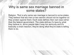 the banning of same sex marriage in some states jpg cb  qualities pdf good a essay teacher of