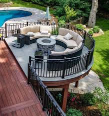 Terrasse Design Ideas 46 Impressive Deck Backyard Ideas Exterieur Jardin