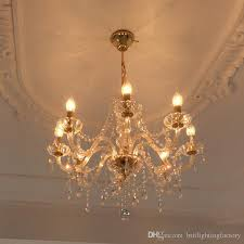 gold crystal chandelier 8 lights contemporary ceiling chandelier modern candle crystal chandeliers murano venetian style chandelier led interior lighting