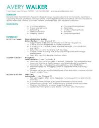 choose construction administrative assistant resume