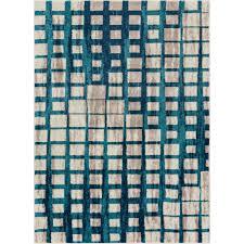 well woven vettore fortuna blue 8 ft x 11 ft modern geometric area rug