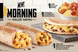 taco bell breakfast menu waffle taco.  Waffle Taco Bell Tests 1 Breakfast Menu And Waffle H