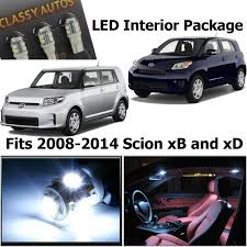 2014 scion xb interior. amazoncom classy autos scion xb xd white interior led package 6 pieces automotive 2014 xb