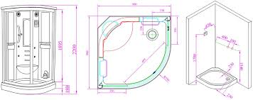 Interesting Curved Shower Enclosures Uk Aqualux Florenta Quadrant Steam And Design Ideas