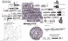4l80e Interchange Chart 77 Precise 4l60e Identification Numbers