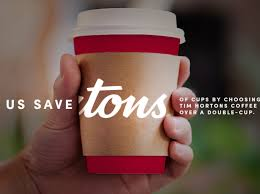 If you're looking for a better way to hold your morning brew—whether it's for iced or hot coffee, we've got the perfect gift for you. Tim Hortons To Eliminate Double Cupping In Favour Of Recyclable Sleeves Toronto Times