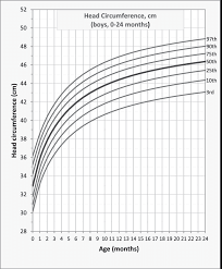 Head Circumference For Age Percentile Curves For Brazilian