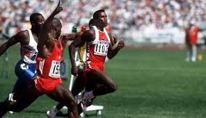Doping - Von Ben Johnson bis Lance Armstrong • NEWS. - johnson-lewis-seoul