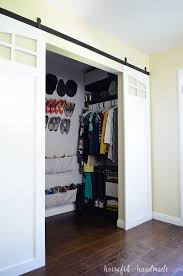 diy barn doors are perfect for the closet get the sliding barn doors build plans