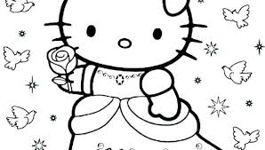 Printable Cat Coloring Pages Hello Kitty Coloring Pages To Print Out