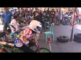 balap motor drag bike 201 meter youtube