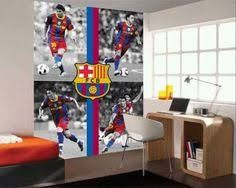 decorate the wall with fc barcelona barcelona bedroom
