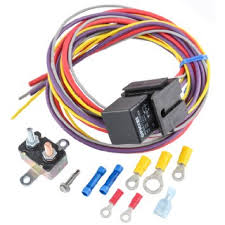 cheap electric fan wiring kit electric fan wiring kit deals get quotations · jegs performance products 10559 manual controlled single fan wiring harness relay kit includes