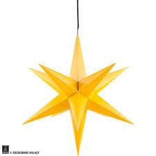 Hasslau Christmas Star For Inside Use Yellow Incl Lighting