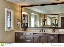 Large Bathroom Large Bathroom Mirror Stock Photos Image 6356503