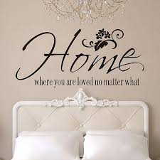 Small Picture Home where you are loved no matter what quotes wall stickers
