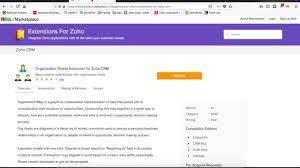 Zoho Charts Ogranization Chart For Zoho Crm