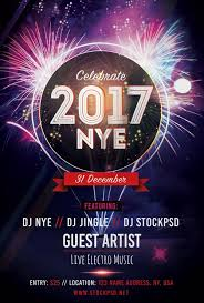 Freepsdflyer | New Years Eve 2017 Party Free Flyer Template ...