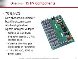onegear smc kv soft starter wires at required spacing 24