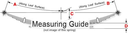 Sumosprings Fit Chart F250 Heavy Duty Leaf Spring F250 F350 Ford 7 Leafs