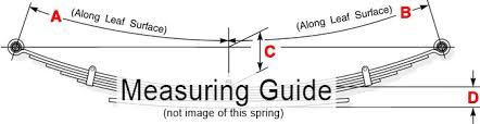 Ford Leaf Spring Code Chart F250 Heavy Duty Leaf Spring F250 F350 Ford 7 Leafs