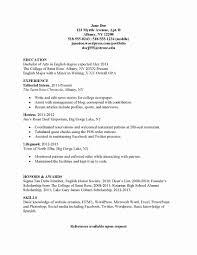 Resume Sample For Mft Intern Fresh Internship Resume No Experience