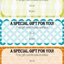 Make My Own Coupon Magazine Subscription Gift Certificate Template Gift Coupons Now I