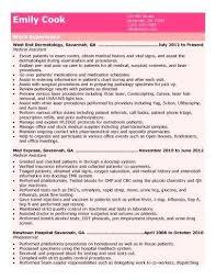 Medical Assistant Resume Objectives Medical Assistant Resume Objective Samples 67