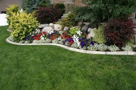 Garden Border Ideas How To Choose Plants As Landscape Border Ideas Plants  Landscaping Painting