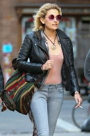paris jackson in leather jacket and jeans 08
