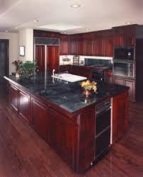 cherry kitchen cabinets black granite. My Dream Kitchen...black Granite Countertops With Cherry Wood Cabinets And Black Appliances Kitchen I