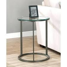 black metal end table side tables round metal bedside table side table option round glass top